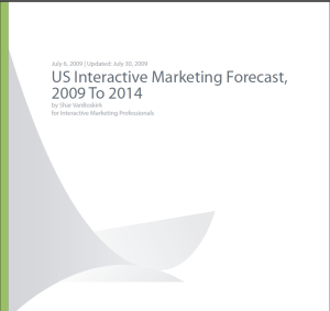 Forrester Research Interactive Marketing Predictions