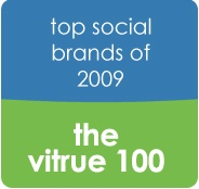 Top 100 Social Marketing Brands in 2009