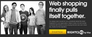 Visa rightCliq Social Shopping Platform