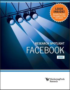 Facebook Research By MarketingProfs
