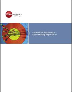 CoreMetrics Benchmark Cyber Monday Report 2010